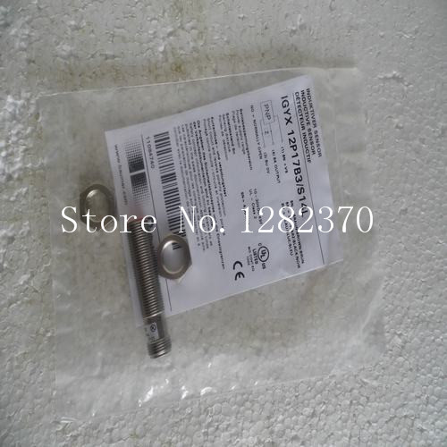 цена на [SA] New original authentic special sales Baumer sensor switch IGYX 12P17B3 / S14L spot --5PCS/LOT
