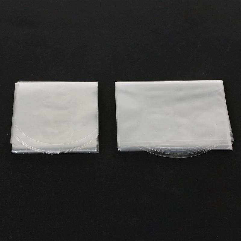 New 10Pcs PVC Transparent Heat Shrink Film Cover For Samsung LG TV Air-Conditioner Remote Control