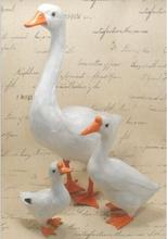 WYZHY Size size simulation feather animal goose pastoral creative decoration cognitive poultry 38CM