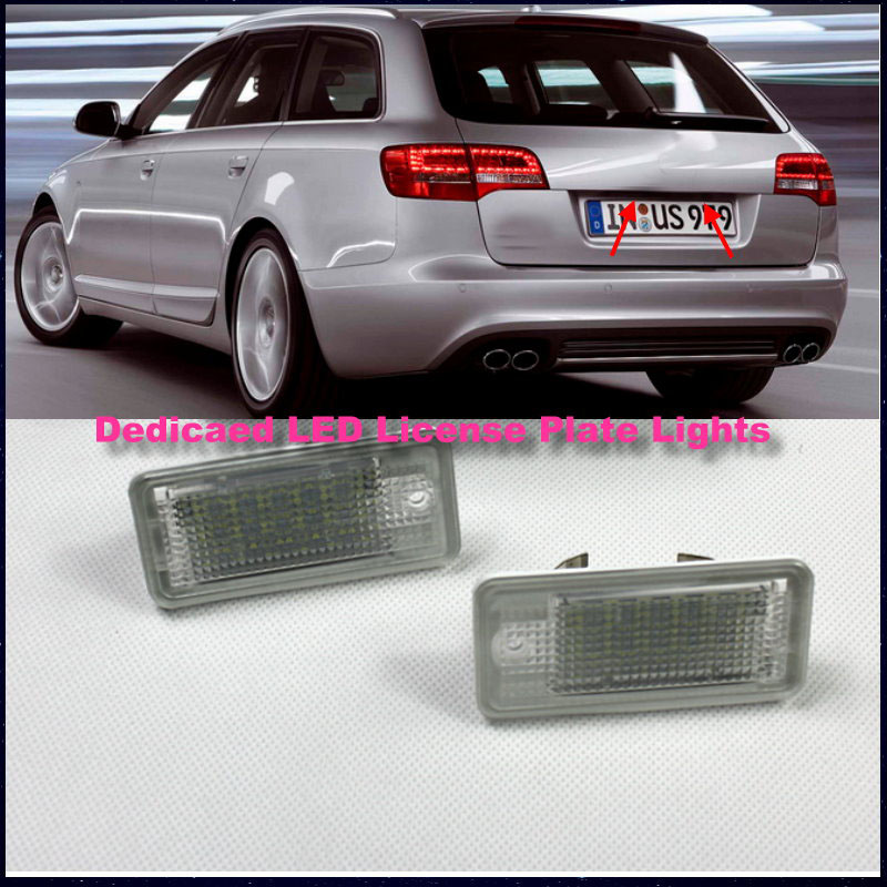 For Audi A6 / C6 2005~2009 / Dedicated Car License Plate