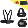 Camera SJ5000 SJ4000 Gopro Accessories Set Chest Harness Head Wifi Strap Mount Kit Go pro Hero2 hero3 Hero 3+ 3 4 Free shipping