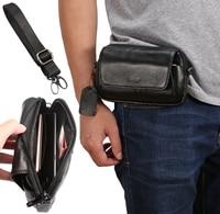 2in1 Men Genuine Leather Case Shoulder Bag Business Men Wallet Purse Phone Pouch Fashion Casual Men Messenger Bag Crossbody Bag