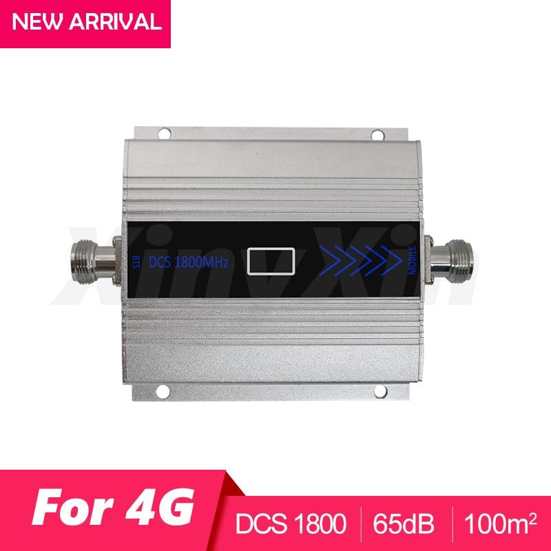 4G LTE DCS 1800 mhz Moblie téléphone Booster GSM 1800 Répéteur de Signal Cellulaire téléphone portable Amplificateur 4G Réseau 65dB Gain LCD Affichage - 2