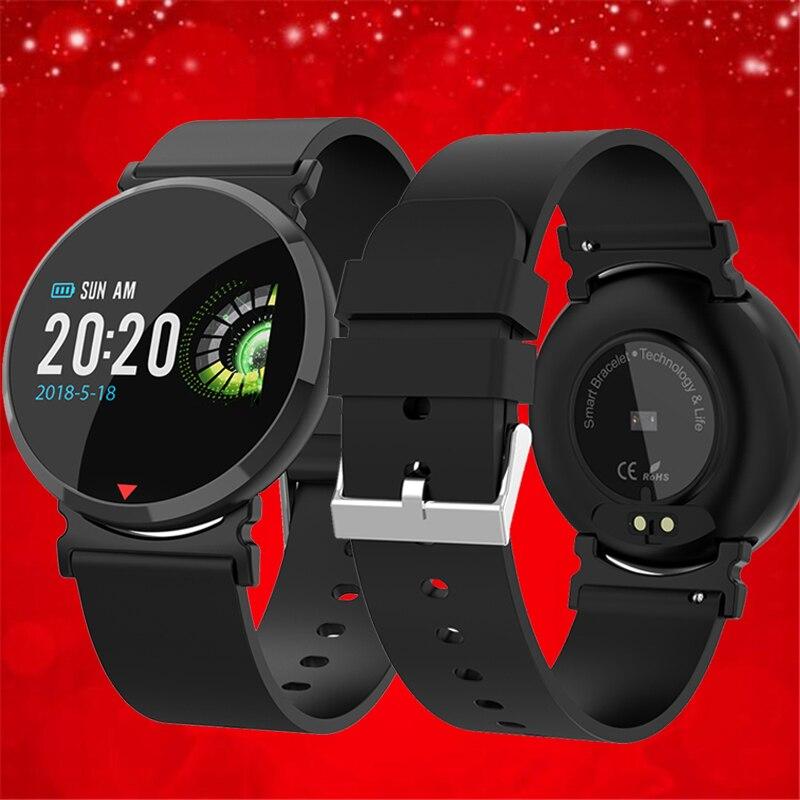 OGEDA E28 deportes reloj inteligente IP67 impermeable rastreador de ejercicios reloj de las mujeres de los hombres de la vigilancia de la presión arterial pulsera inteligente