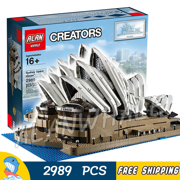 2989pcs 17003 Creator Expert Sydney Opera House Building Blocks