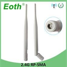 20pcs 2.4GHz Antenna wifi 5dBi RP-SMA Female 2.4 ghz antena wi fi antenne Aerial antennas antenas for Wireless wi-fi Router модем zte mf79 usb wi fi router черный