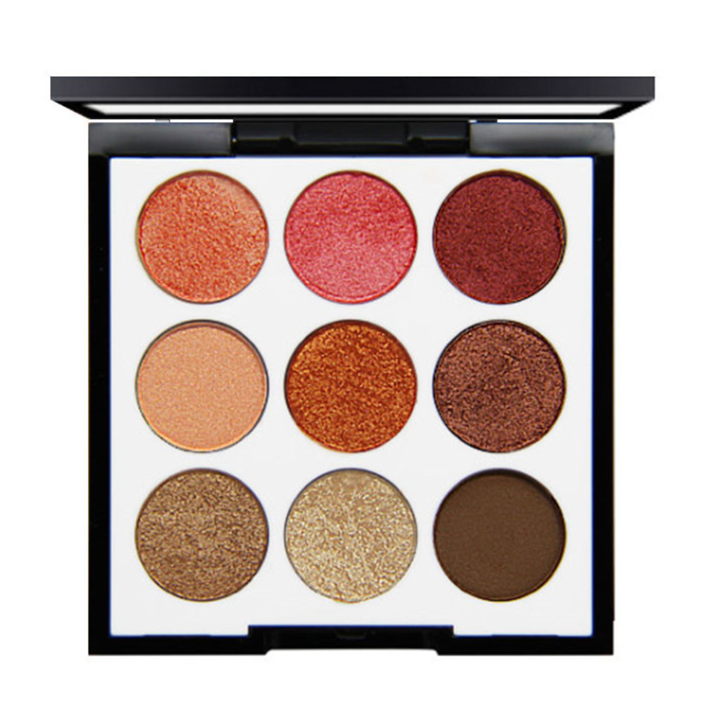Nine Colors Charm Show Eye Shadow Palette Nude Shadows Cosmetics Makeup Pigment Glitter Eyeshadow in Eye Shadow from Beauty Health