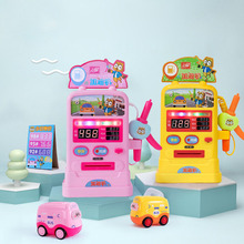 Childrens Dream Gas Station Play House Toy Baby Light Music Simulation Gasoline Pump Fuel