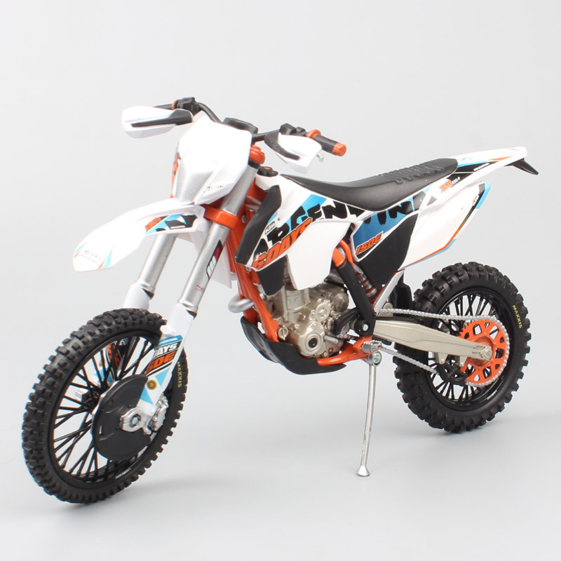 1:12 Scale KTM 350 EXC Six 6 Days Argentina Motocross Offroad Riding Trail Dirt ISDE Motorcycle Diecast Metal Model Race Car Toy