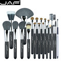 Jaf marca 20 unids profesional pinceles de maquillaje set herramientas de cosméticos fundación brush kit polvo colorete sombra de ojos delineador de ojos pinceles