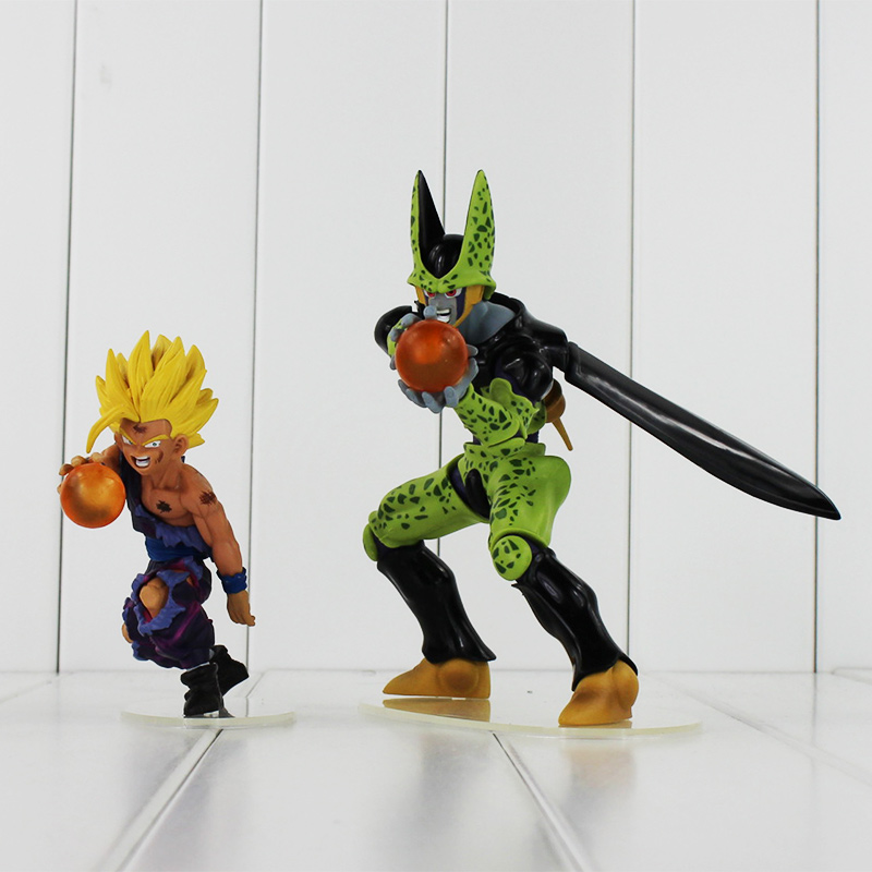 nuevo dragon ball z goku dragon ball son gohan vs celular pvc figuras de accin juguetes