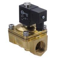 5 шт./лот G1/2 ''Размеры прямой привод электромагнитный Клапан модель pu220-04a 2/2 способ латунь n/ C