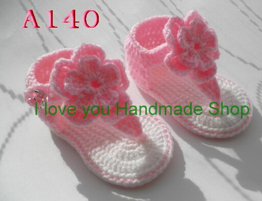 Crochet Pattern for Baby Gladiator Seaside Sandals Baby crochet ...