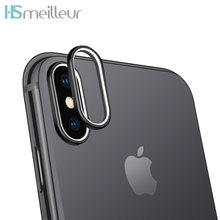 Hsmeilleur Rear Camera Lens Protector Metal Ring For iPhone XS Max XR X 8 7 6 s Plus Back Camera Protetor Case Cover Accessories(China)