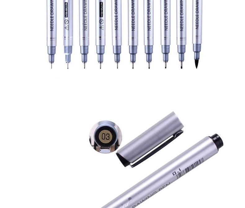 para desenho pigma micron liner escovas gancho linha caneta arte suprimentos