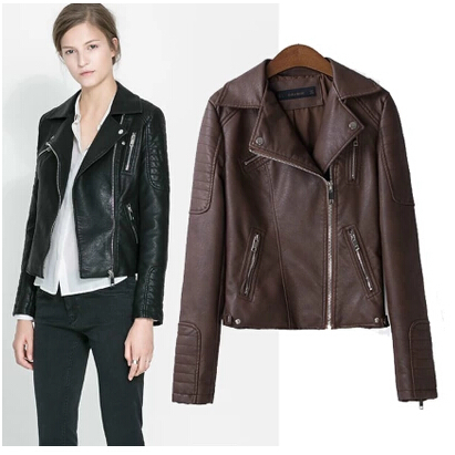 Online Get Cheap Short Cropped Leather Jackets -Aliexpress.com ...