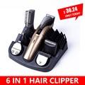 6 In1 Hair cutting machine hair clipper Hair trimmer the beard trimmer machine for trimming barber haircut machine
