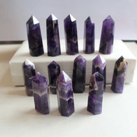 new arrivals 100% natural dream amethyst quartz crystal gem stone wand as gift1kg