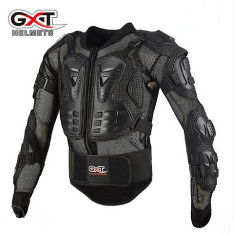 2018 New GXT Cross_country Motorcycle Riding Armors Moto knight Racing protection gear Out sports armor of PP Shell