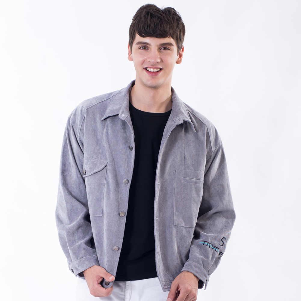 春秋のメンズデニムジャケットファッションフィットショートジャケット西ストリートヒップホップコートソリッドカラーのヴィンテージ男性のジーンズ服 4XL