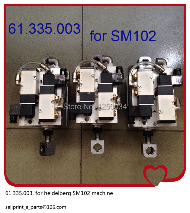 1 piece FREE SHIPPING Heidelberg SM102 Solenoid valve 61.335.003 SM102 valve for heidelberg