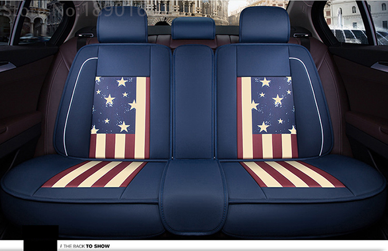 only rear leather car seat covers For Jac Rein seat cover 13 s5 faux s5 auto accessories car-styling car stickers 3D RX580 авто jac s5 в москве