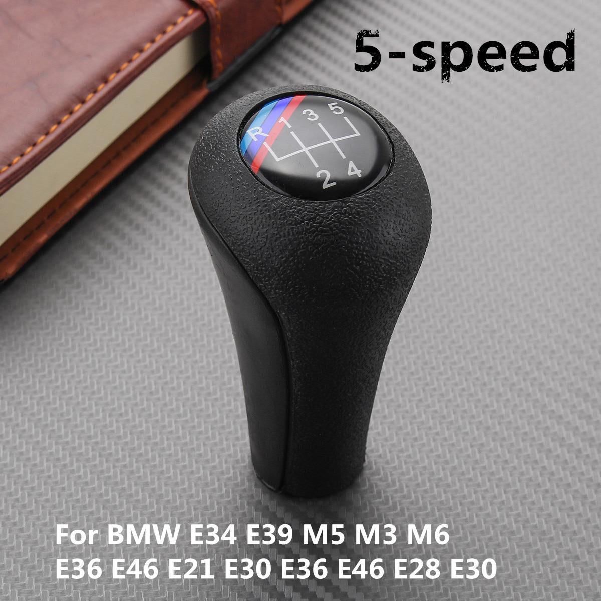 Natural leather !!! BMW GEAR SHIFT KNOB E21 E28 E30 E34 E36 E39 E46-5 speed