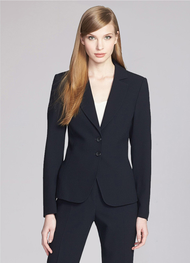 Navy Pant Suit Womens | My Dress Tip
