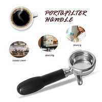 Maniglia caffè Espresso Caffè Macinato In Polvere Filtrazione Portafilter Filtro In Acciaio Inox Accessori Per Macchine Da Caffè