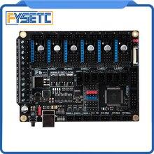 FYSETC F6 V1.3 مجلس الكل في واحد للإلكترونيات Ender 3 طابعة ثلاثية الأبعاد أجهزة التصنيع باستخدام الحاسب الآلي تصل إلى 6 برامج تشغيل السيارات ل TMC2130 SPI VS SKR V1.3