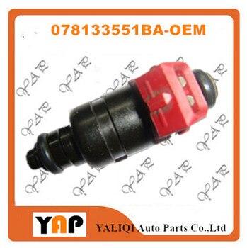 Used  FUEL INJECTOR (6) FOR FIT VWAudi A6 Quattro Passat 2.8L V6 078133551BA 1998-2005