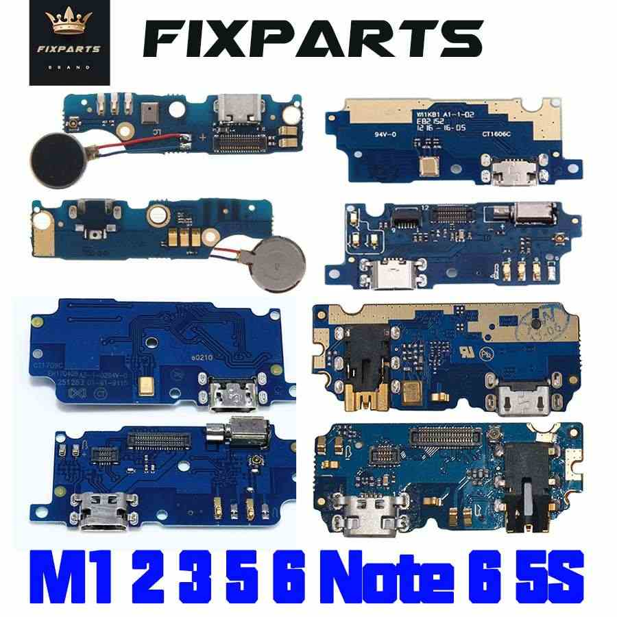 Meizu M1 M2 M3 M5 M6 Note U10 M3S Dock Port USB Charging Dock Charger Connector Plug Board Flex Cable Replacement Repair Parts