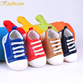 Kindstraum 2016 New Brand baby First Walkers Casual Shoes Spring & Autumn Sports Shoes Kids Solid Canvas Shoes Boys& Girl, MJ023
