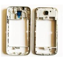 c377f690933 Nuevo para Samsung Galaxy S4 Mini I9190 I9192 I9195 medio chasis placa  bisel vivienda con el volumen de alimentación botón
