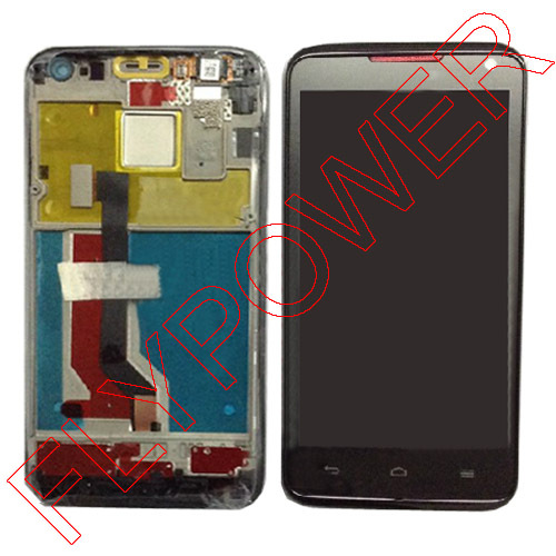 ФОТО LCD WITH TOUCH SCREEN DIGITIZER FOR Huawei Ascend D D1 Quad XL U9510 U9510E By Free Shipping