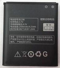 BL196 3.7V 2500mAh High Quality Battery for Lenovo P700 P700i mobile phone battery