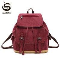 Scione Multifunction School Backpack Women School Shoulder Bag 3 Uses Backpack Laptop Rucksack Men Travel Mochila Drawstring Bag