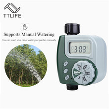 TTLIFE Garden Watering Timer Automatic Electronic Water Home Irrigation Controller System Autoplay Irrigator