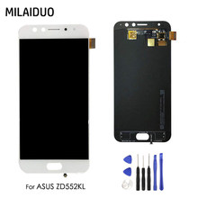 LCD Display For ASUS ZenFone 4 Selfie Pro ZD552KL Touch Screen Digitizer Glass Assembly Replacement No Frame+Tools Free Shipping(China)