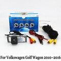 Para Volkswagen Golf Wagon/Estate Variant/2010 ~ 2016/Fio Ou sem fio/HD Lente Grande Angular Visão CCD Noite Câmera de Visão Traseira