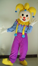 Clown Mascot Costume Cartoon Theme Anime Cosplay Costumes Carnival Birthday Mascotte Fancy DRESS Funny Colorful цена и фото
