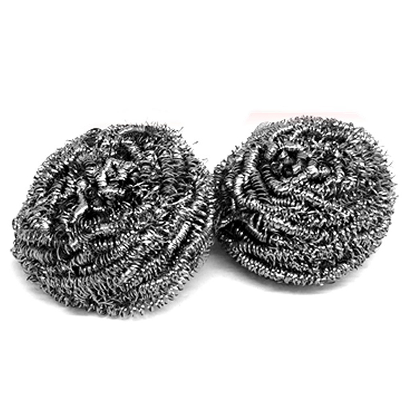 HOT GCZW-Two Rust Resistance Kitchen Metal Wire Cleaning Balls
