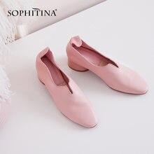 Sophitina/Новинки 2019 г; Бабушкины туфли;Мягкие и удобные туфли