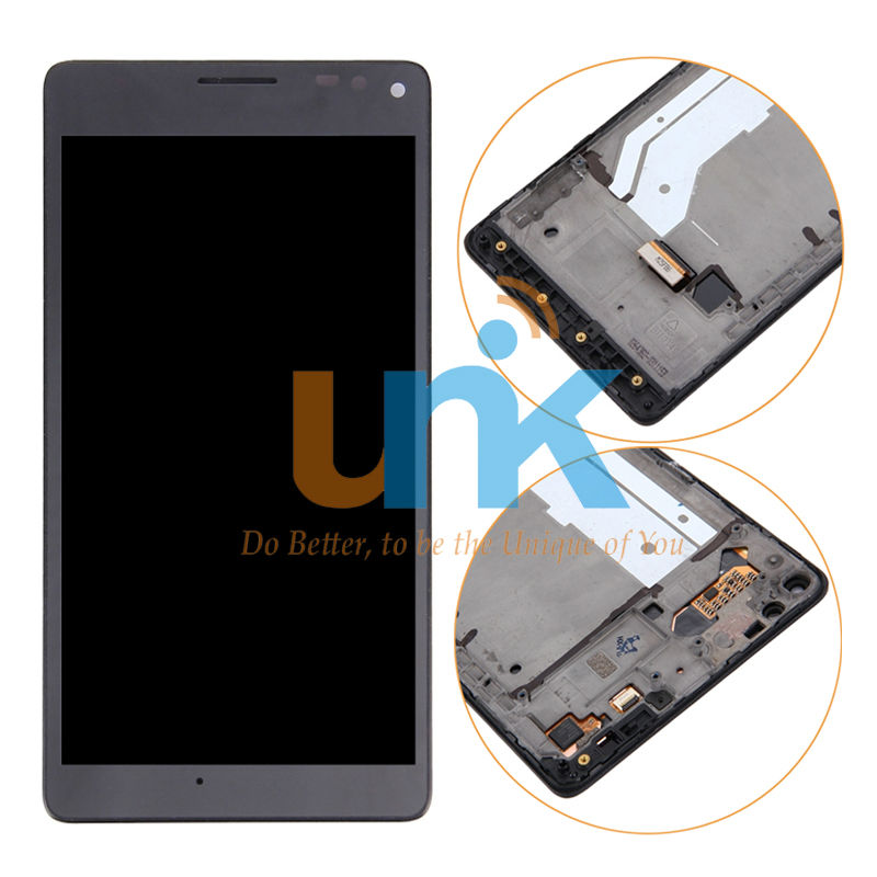For Nokia Microsoft Lumia 950XL 950 XL Lcd Screen Display with Touch Digitizer Frame Assembly Black one piece free shipping lcd screen display touch panel digitizer with frame for htc one m9 black or silver or gold free shipping