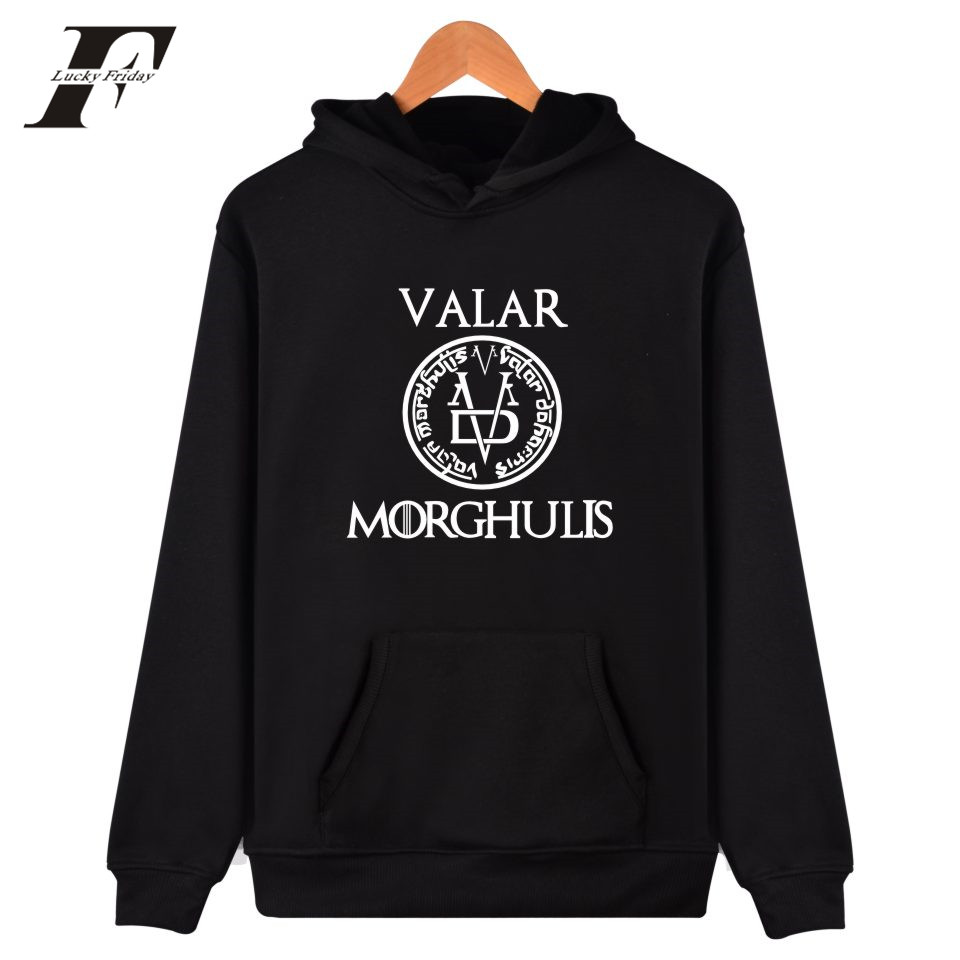 LUCKYFRIDAYF Game Of Thrones Cap Hoodies 2017 Fashion Men/Women Clothes Hooded Sweatshirts Unisex Kpop Hoodies For Plus Size 4XL