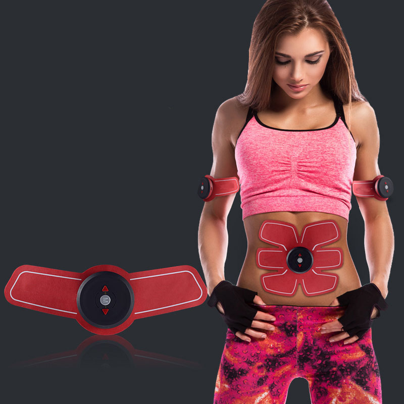Smart EMS Wireless Muscle Stimulator massage Electric Abdominal Exercise ems trainer Abd Arm Muscles Intensive Massager Health цена и фото