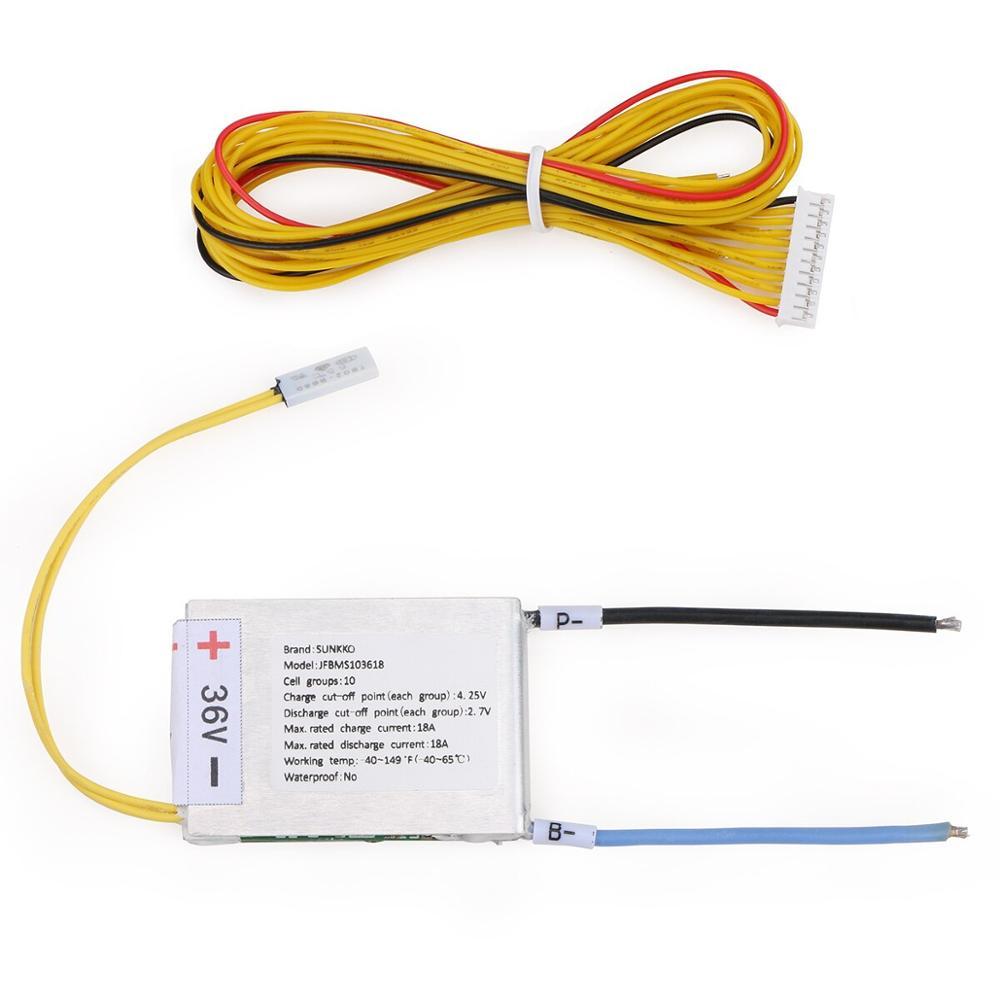 36V 10s 18A Battery Management System(BMS)