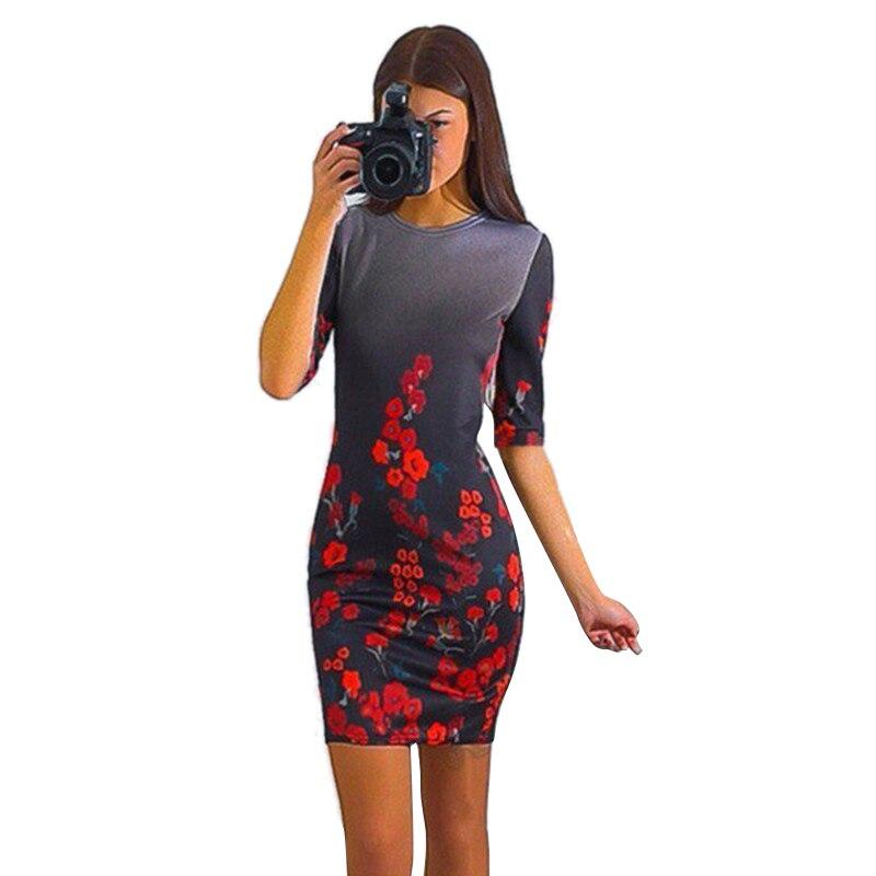 Nueva hembra del verano dress mujeres de la impresión floral de manga corta vest