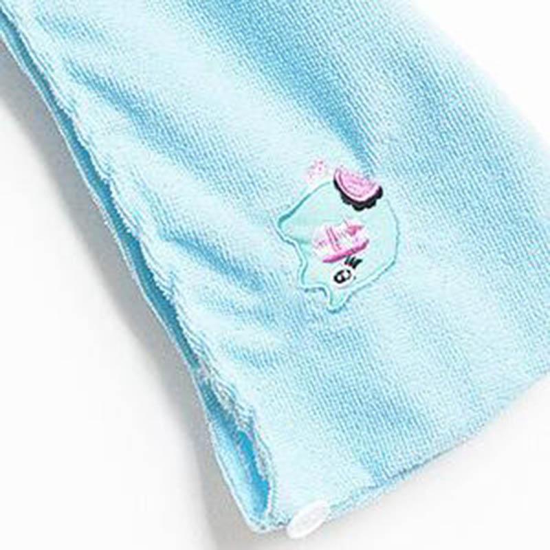 Skylarkhome Store New Arrival Quick-dry Thicken Towels Microfiber Fabric Hair towel Magic Dryer Hair Hats Sliod Blue,Pink,Bath Towel strandlaken