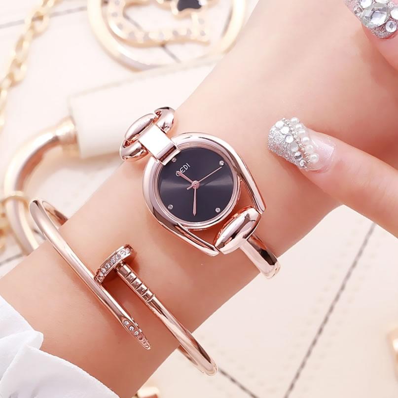 GEDI Japan Imported Movement Simple Fashion Bracelet Waterproof Quartz Watch Personalized Creative Irregular Shape Watch